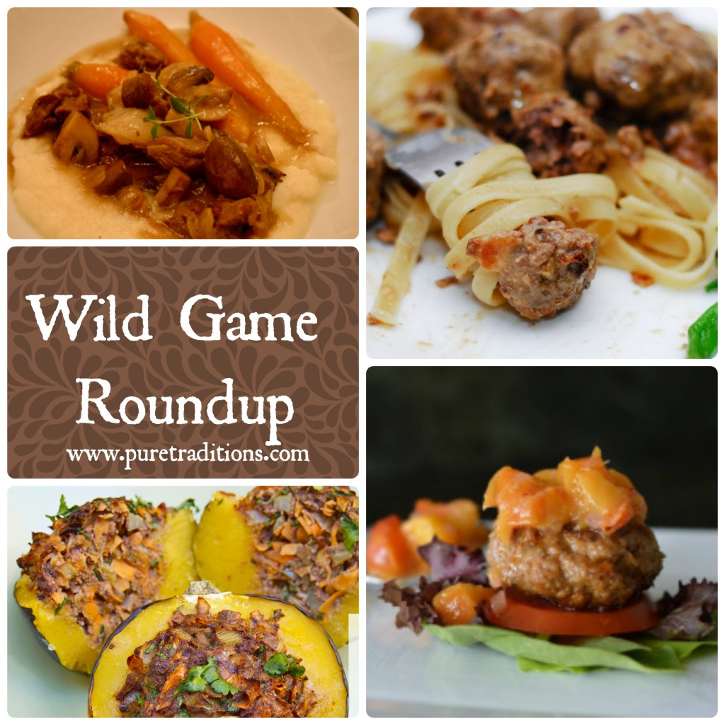 Wild Game Roundup www.puretraditions.com