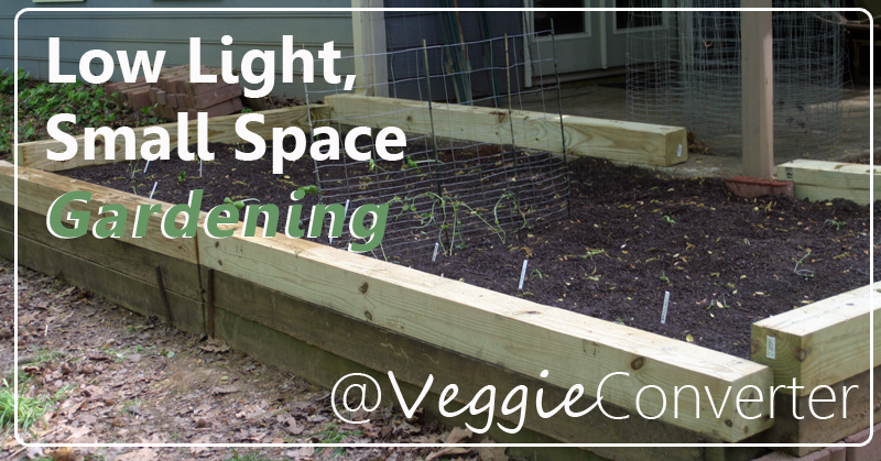 Do you have low light and small space? VeggieConverter has the solution for you!