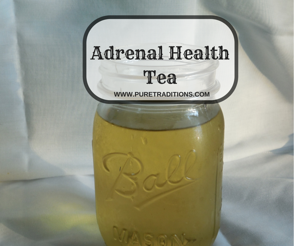 Adrenal Health Tea - Pure Traditions