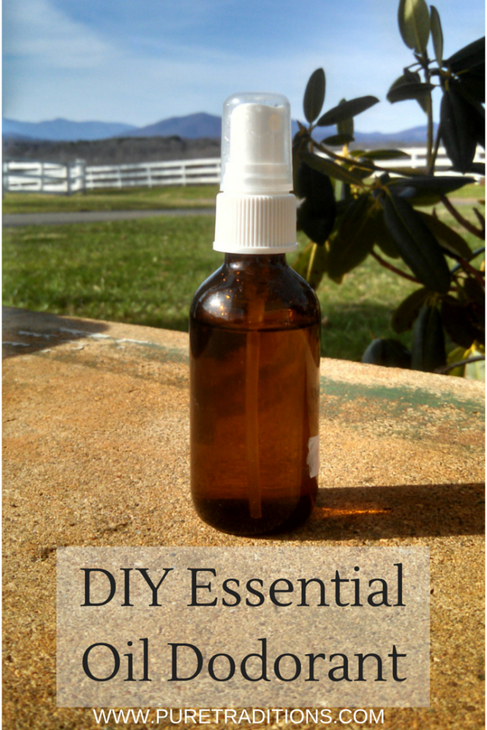 DIY Essential Oil Dodorant - Pure Traditions